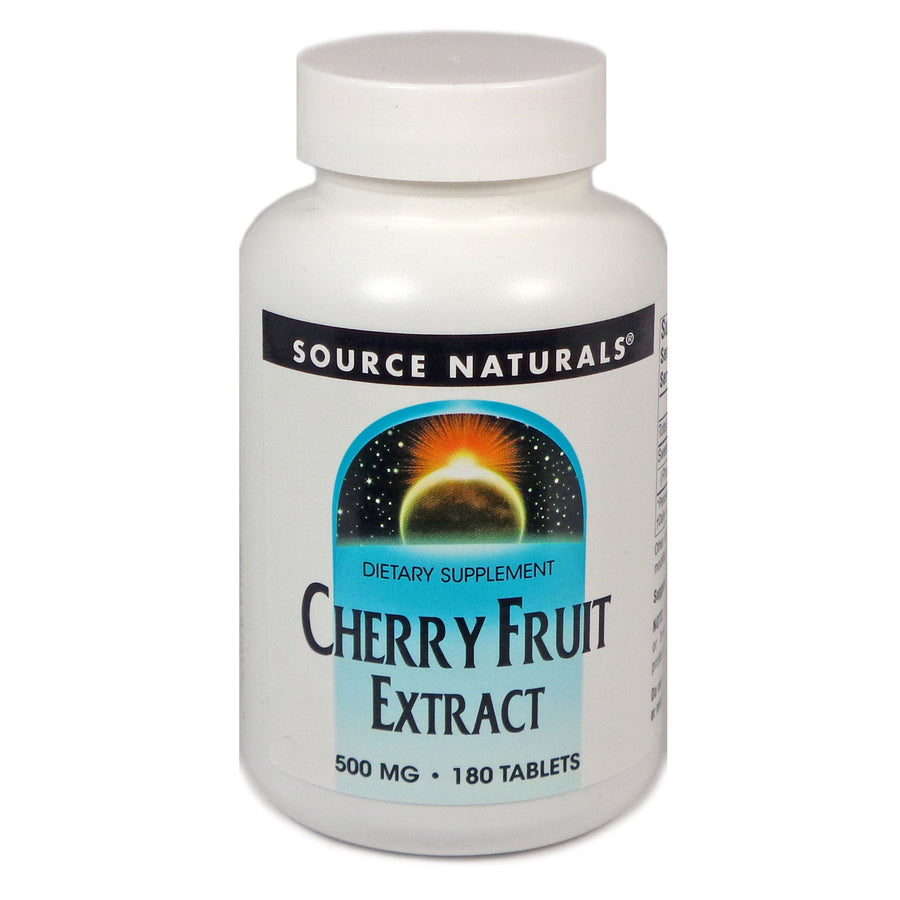 Source Naturals Cherry Fruit Extract 500 mg - 180 Tablet