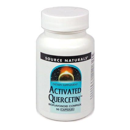 Source Naturals Activated Quercetin - 50 Capsule
