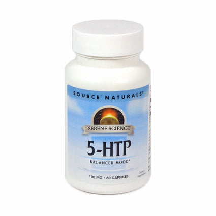 Source Naturals Serene Science 5-HTP 100 mg - 60 Capsule