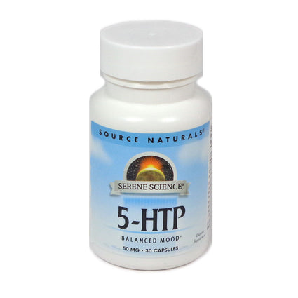 Source Naturals Serene Science 5-HTP 50 mg - 30 Capsule