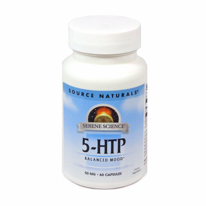 Source Naturals Serene Science 5-HTP 50 mg - 60 Capsule