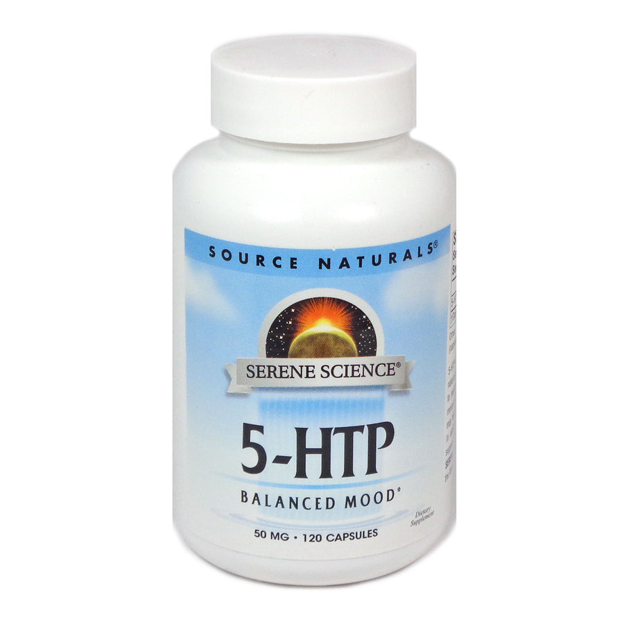 Source Naturals Serene Science 5-HTP 50 mg - 120 Capsule
