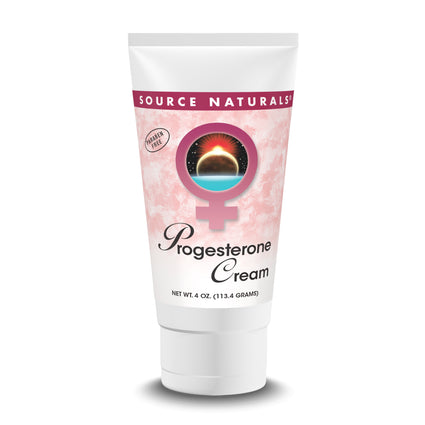 Progesterone Cream in Tube by Source Naturals - 4 Ounces