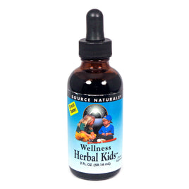 Source Naturals Wellness Herbal Kids Liquid - 2 Fl Oz Liquid