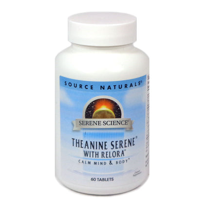 Source Naturals Serene Science Theanine Serene with Relora - 60 Tablet