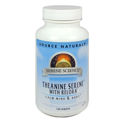 Theanine Serene with Relora by Source Naturals - 120 tablets