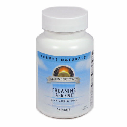 Source Naturals Serene Science Theanine Serene - 30 Tablet