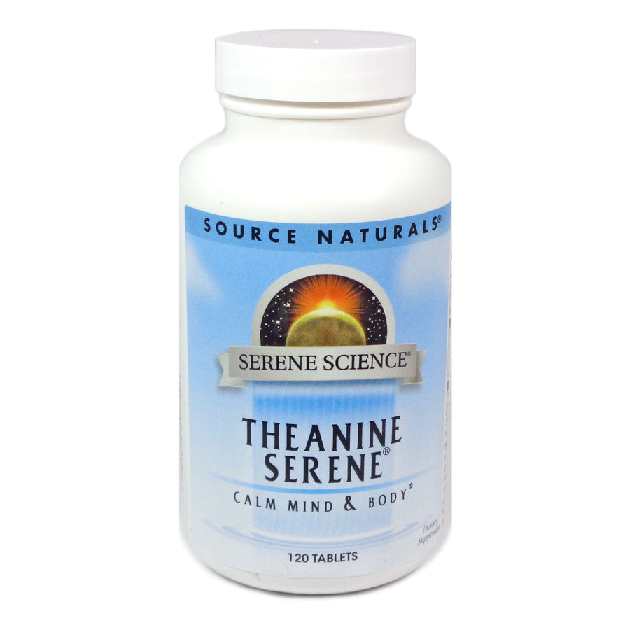 Source Naturals Serene Science Theanine Serene - 120 Tablet