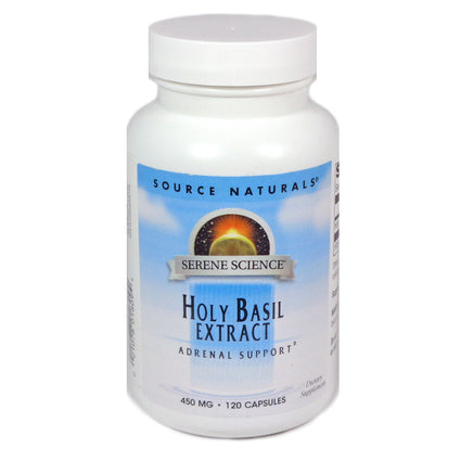Source Naturals Serene Science Holy Basil Extract 450 mg - 120 Capsule