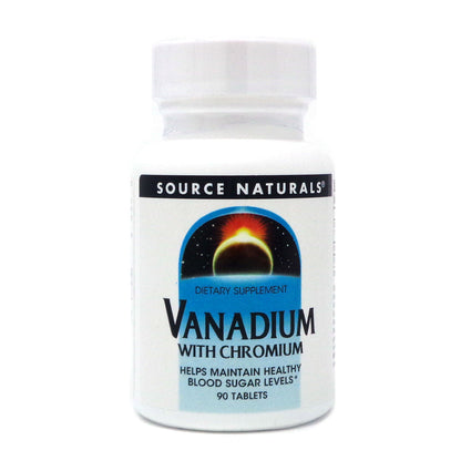 Vanadium with Chromium By Source Naturals - 90 Tablet