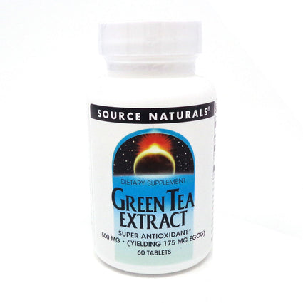Green Tea Extract 175mg EGCG 500mg By Source Naturals - 60 Tablet
