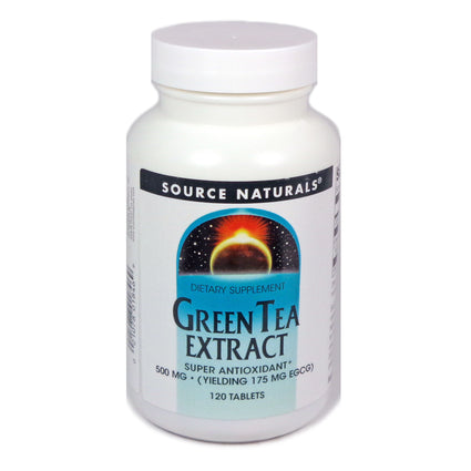 Source Naturals Green Tea Extract 500 mg - 120 Tablet
