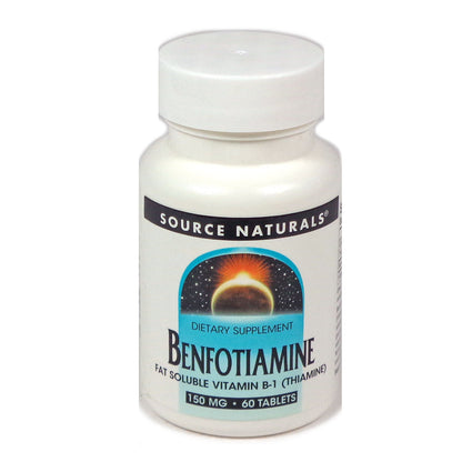 Benfotiamine 150mg By Source Naturals - 60 Tablets