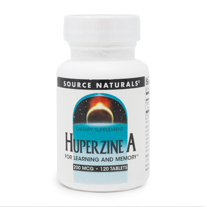 Huperzine A 200mcg By Source Naturals - 120 Tablet