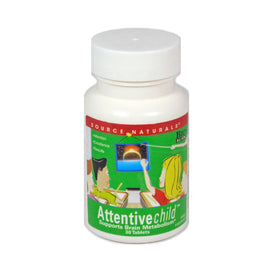 Source Naturals Attentive Child - 30 Tablet