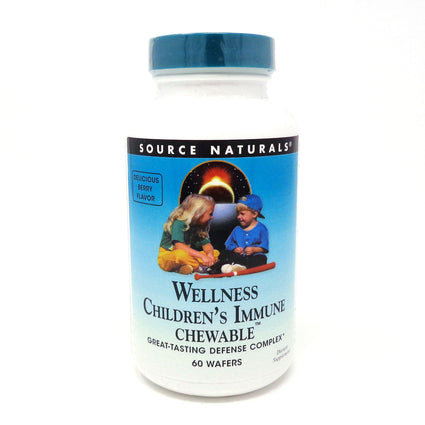 Wellness Children's Immune Chewable By Source Naturals - 60 Wafer