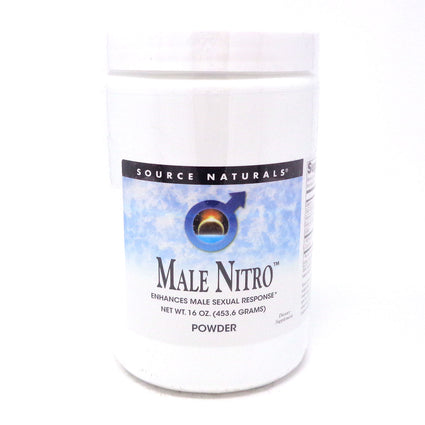Male Nitro Powder By Source Naturals - 16 Powder