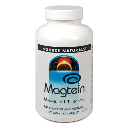 Source Naturals Magtein 180 Capsules