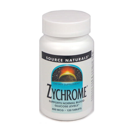Source Naturals Zychrome - 120 Tablet