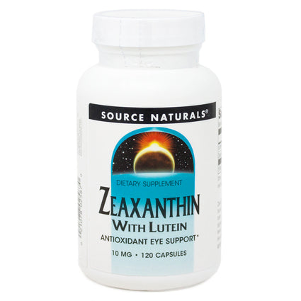 Source Naturals Zeaxanthin with Lutein 10 mg By - 120 Capsule