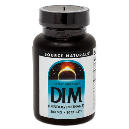 DIM 200mg By Source Naturals - 30 Tablet