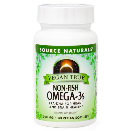 Vegan True Non-Fish Omega-3s By Source Naturals - 30 Softgel