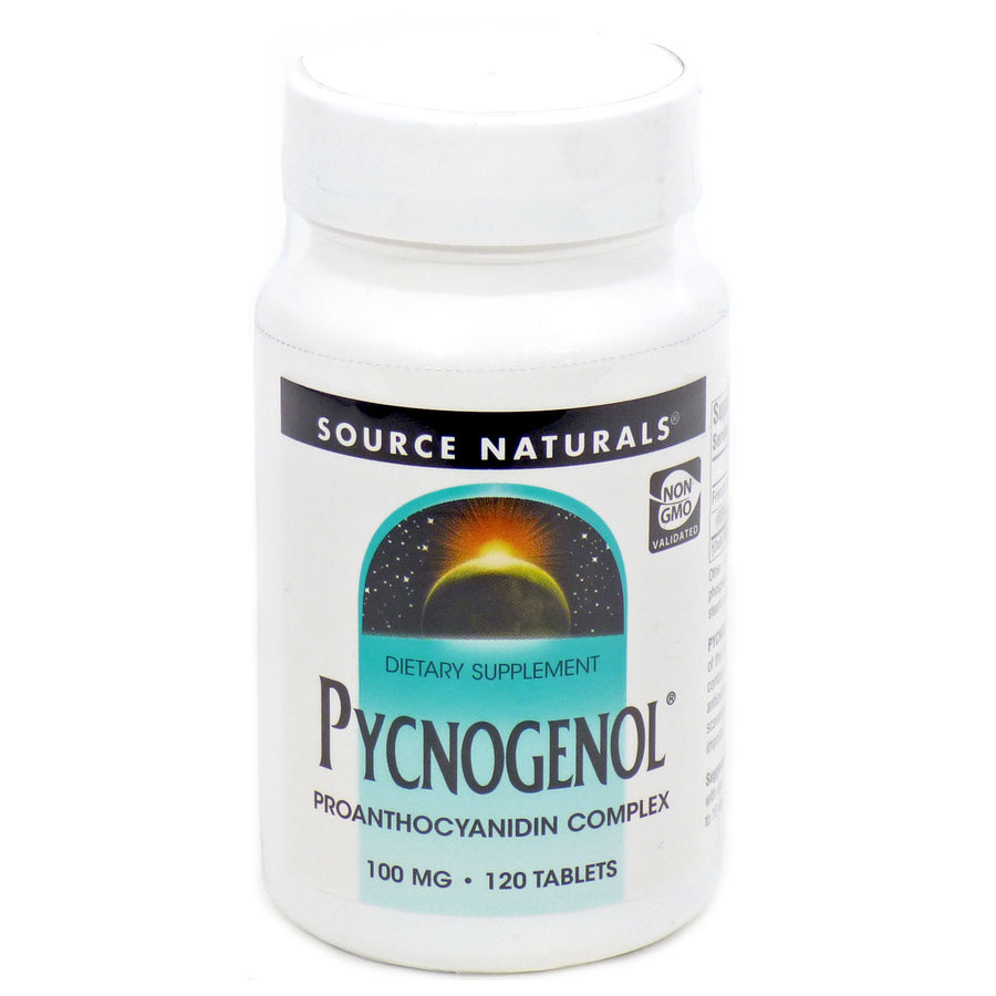 Pycnogenol by Source Naturals - 120 Tablets