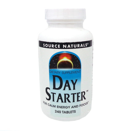 Day Starter By Source Naturals - 240 Tablets