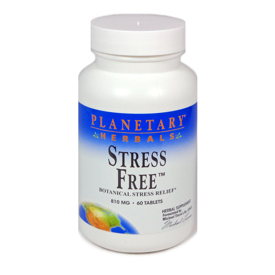 Planetary Herbals Stress Free 810 mg 60 Tablets