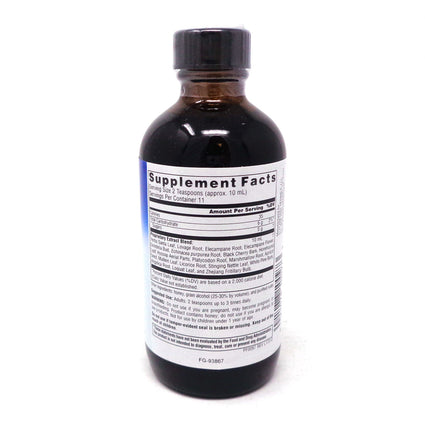 Planetary Herbals Old Indian Wild Cherry Bark Syrup - 4 Ounces