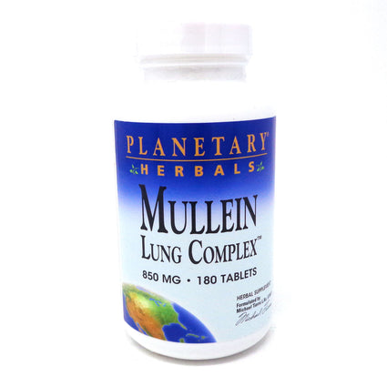 Planetary Formulas Mullein Lung Complex - 180 Tablets