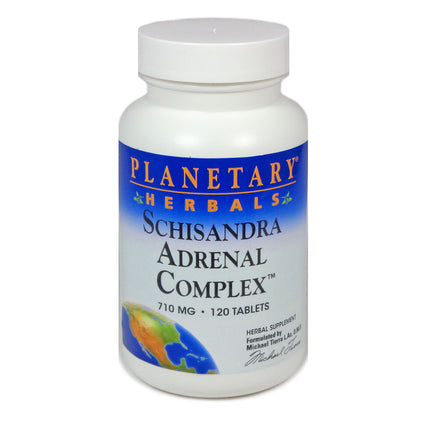 Planetary Herbals Schisandra Adrenal Complex - 120 Tablets