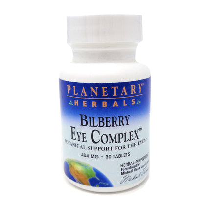 Planetary Herbals Bilberry Eye Complex - 30 Tablets