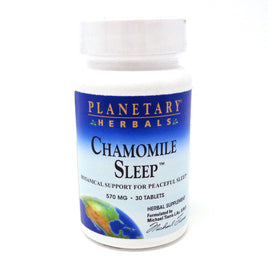Planetary Herbals Chamomile Sleep - 30 Tablets