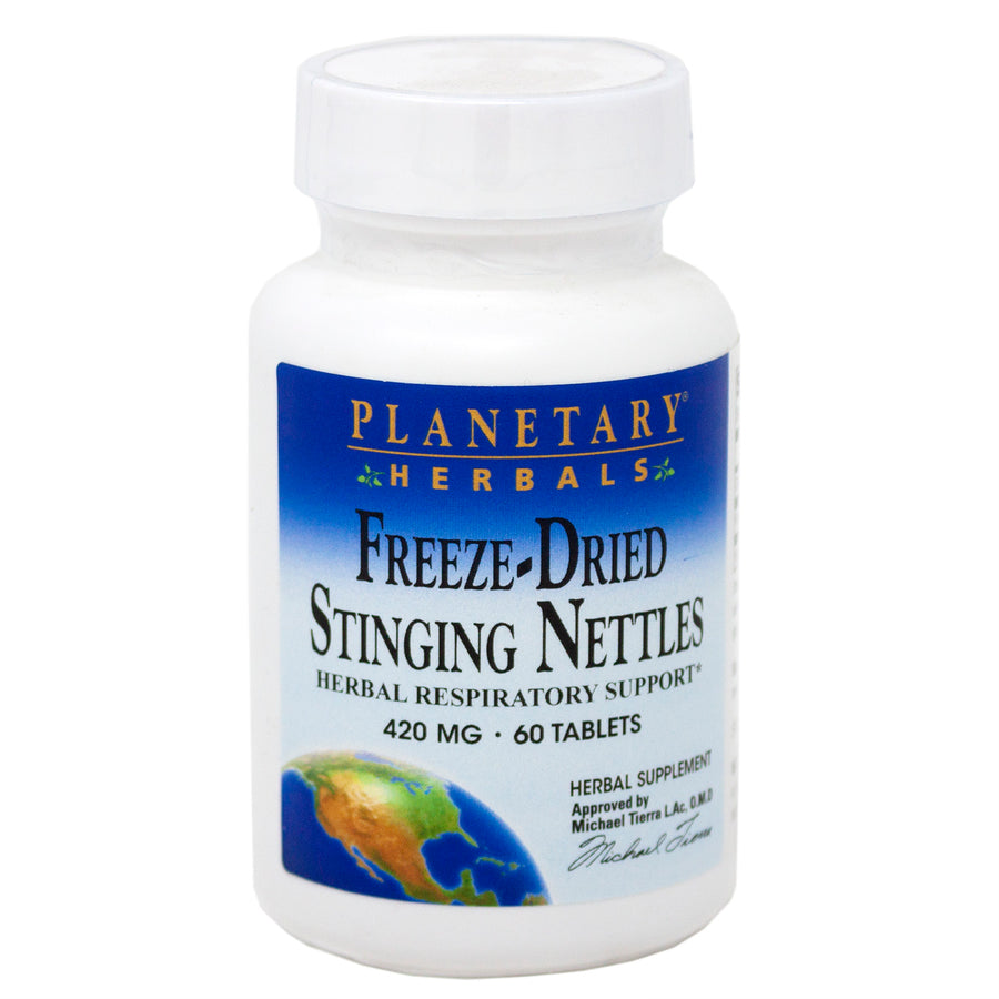 Planetary Formulas Freeze Dried Stinging Nettles 60 Tabs