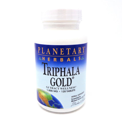 Triphala Gold 1000mg By Planetary Herbals - 120 Tablet
