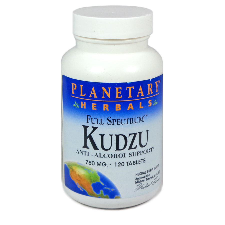 Kudzu Full Spectrum 750mg By Planetary Herbals - 120 Tablet