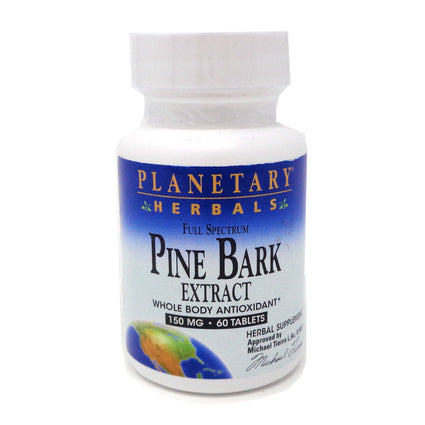 Pine Bark Extract Full Spectrum 150mg By Planetary Herbals - 60 Tablet