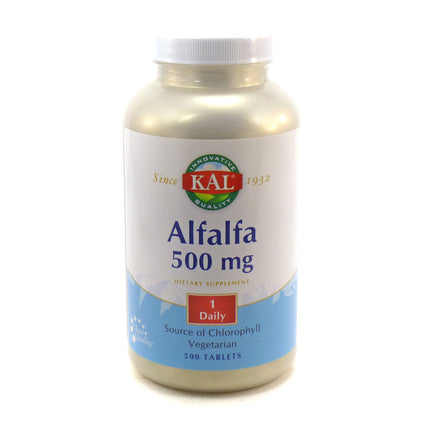 Alfalfa 8 grain By KAL - 500 Tablets