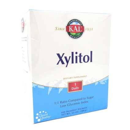 Xylitol Packets 1 g By KAL - 100 pkt Powder