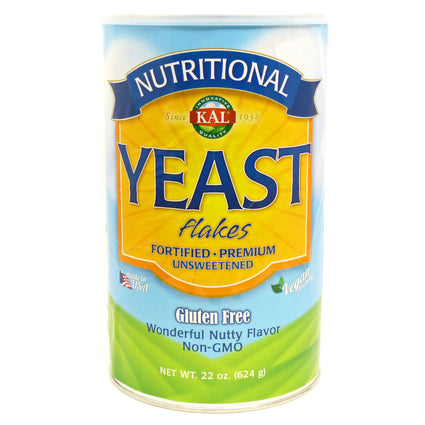 Nutritional Yeast Flakes By KAL - 22 oz Powder