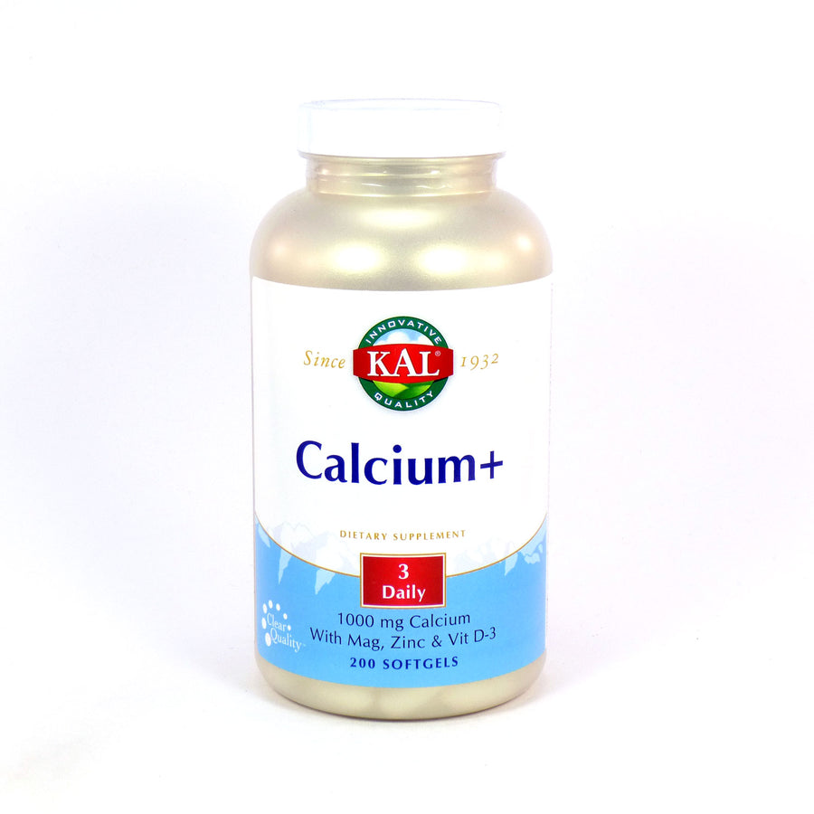 Calcium+ By KAL - 200 Softgels