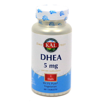 DHEA-5 5 mg By KAL - 60  Tablets