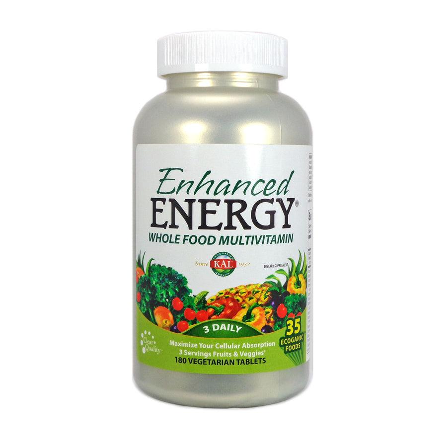 Enhanced Energy by Kal - 180 Tablets