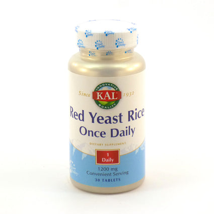 Red Yeast Rice Once Daily 1200 mg By KAL - 30  Tablets