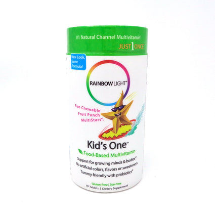 Kids One Multistars Multimitamin by Rainbow Light - 90 Chewable Tablets
