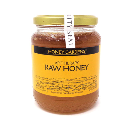Honey Apitherapy Raw By Honey Gardens - 1 Pound
