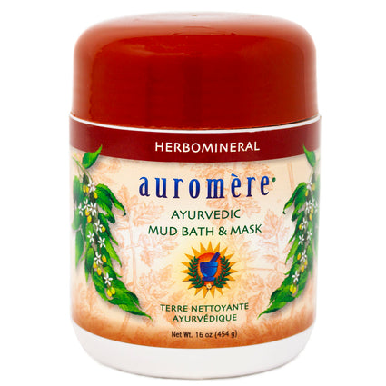 Auromere Imports Mud Bath & Mask -  16 Ounces