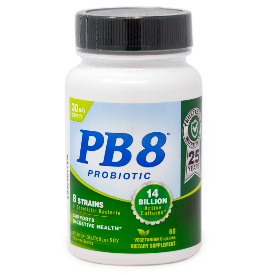 PB8 Probiotic Vegetarian By Nutrition Now - 60 Capsules