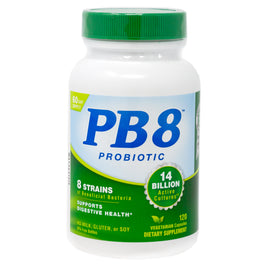 PB8 Probiotic Vegetarian Formula By Nutrition Now - 120 Veg Capsules